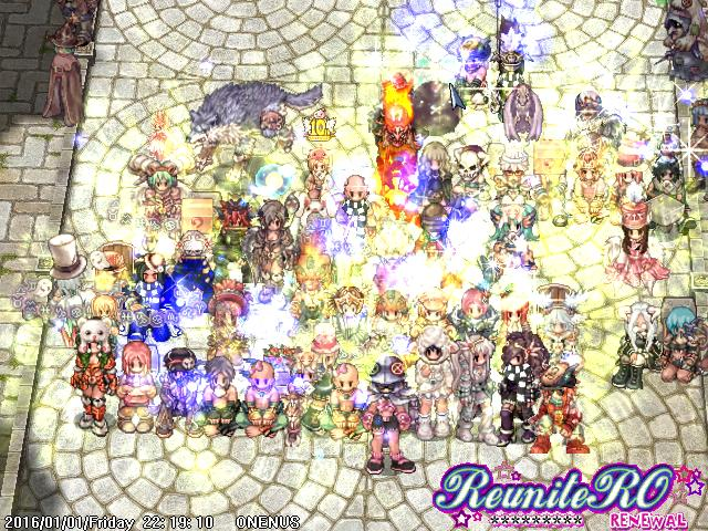 happy new year ragnarok online